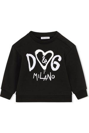 Dolce & Gabbana Logo-print longsleeved top