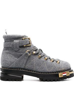 Thom Browne Wool-blend felt ankle boots