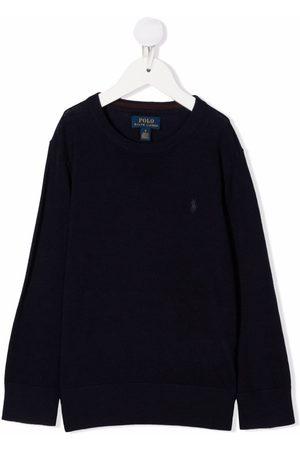 Ralph Lauren Embroidered-logo jumper