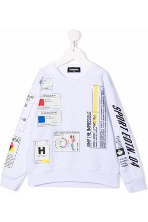 Dsquared2 Graphic-print cotton sweatshirt