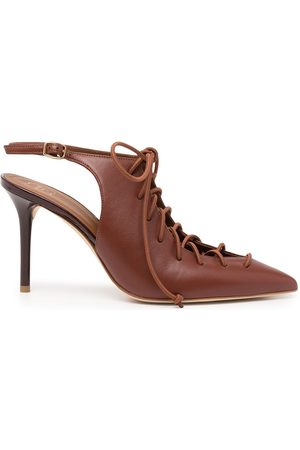 MALONE SOULIERS Alessandra 85mm leather sandals