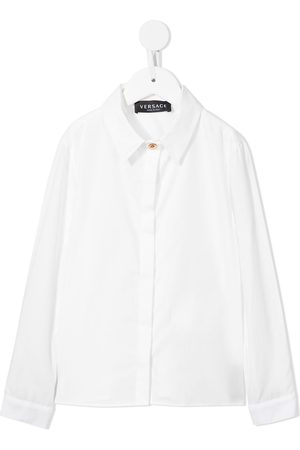 VERSACE Longsleeved cotton shirt