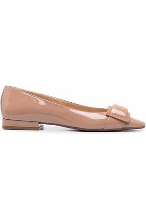 Sergio Rossi Sr Twenty patent-leather ballerina shoes