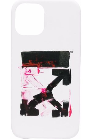 OFF-WHITE Arrows logo-print phone case