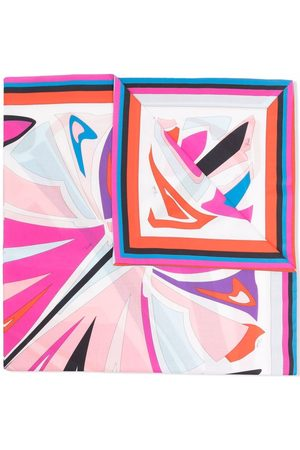 Emilio Pucci Lance print cotton scarf