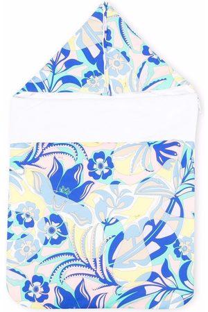 Emilio Pucci Graphic-print hooded sleep bag