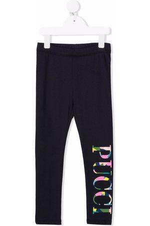 Emilio Pucci Abstract logo-print leggings