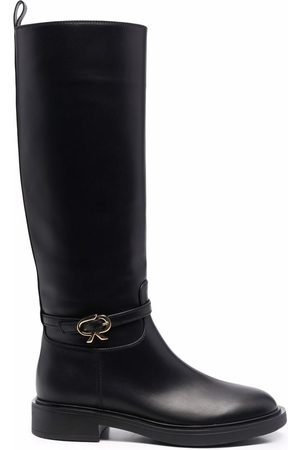 Gianvito Rossi Ribbon Cavalier knee-high boots