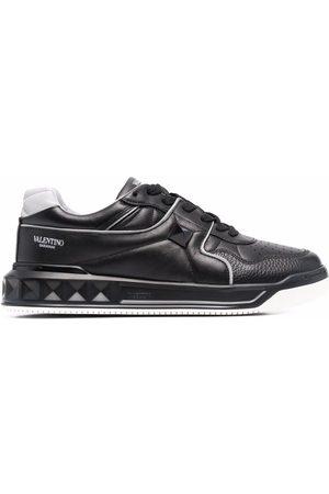 VALENTINO GARAVANI Logo-print lace-up sneakers