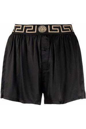 VERSACE Greca waistband shorts