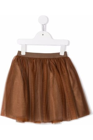 BONPOINT A-line flared mini skirt
