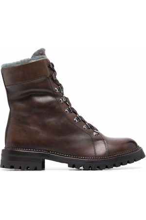 ELEVENTY Hiking lace-up boots