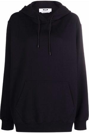 Msgm Logo-trimmed hoodie