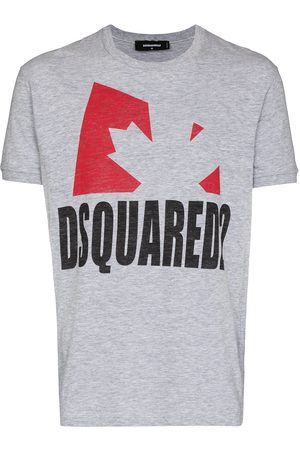 Dsquared2 Leaf print short-sleeve T-shirt