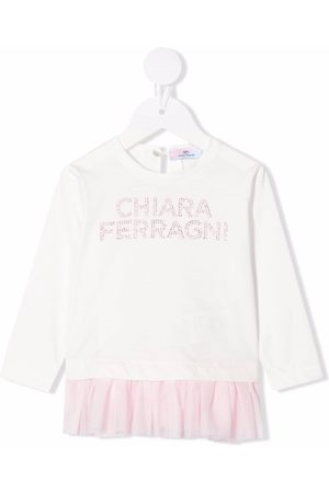 Chiara Ferragni Embellished-logo jumper