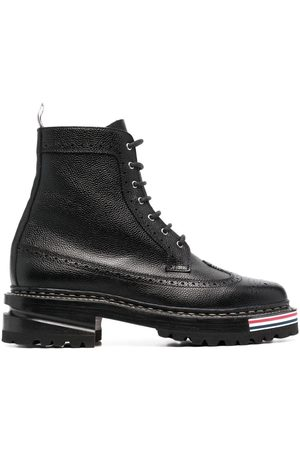 Thom Browne Lace-up longwing boots