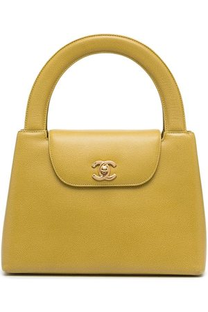 CHANEL 1998 CC Turn-lock handbag