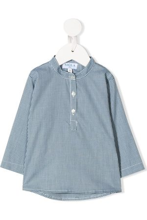 SIOLA Buttoned micro-print shirt