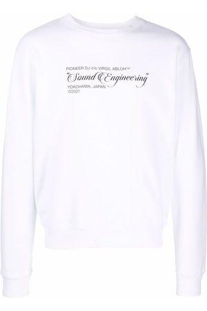 OFF-WHITE Pioneer Painting sweatshirt