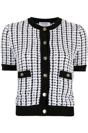 CHANEL 1997 Interlocking CC-button cardigan