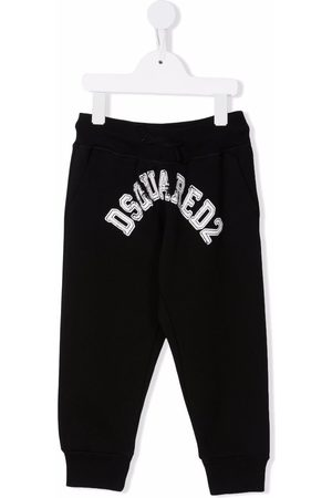 Dsquared2 Logo-print cotton trousers