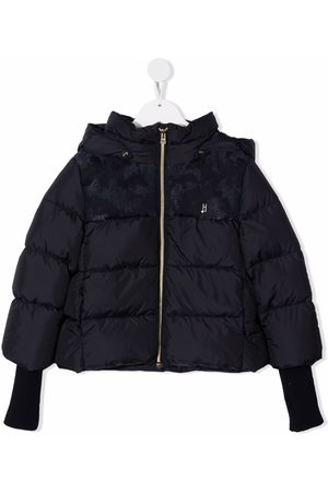 HERNO Elasticated-cuffs padded coat