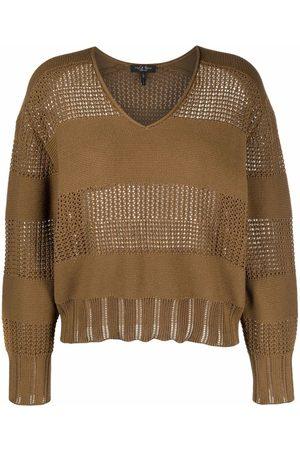 RAG&BONE Open-knit striped jumper
