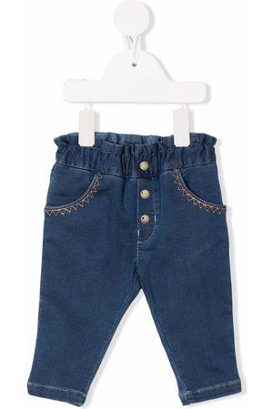Chloé Stitch-detail denim jeans