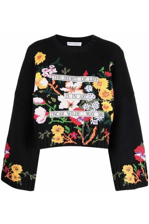 J.W.Anderson CROPPED WIDE SLEEVEJUMPER