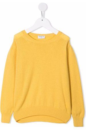 SIOLA Fine-knit cashmere jumper