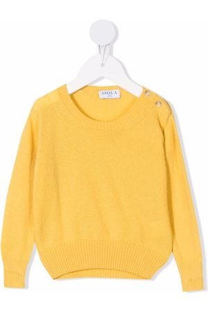 SIOLA Shoulder-button knitted jumper