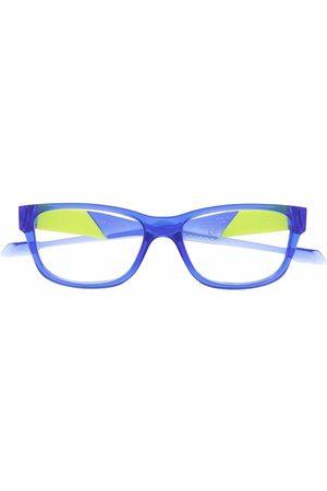 Oakley Colour-block rectangular glasses