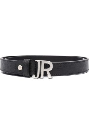 John Richmond Logo-buckle belt