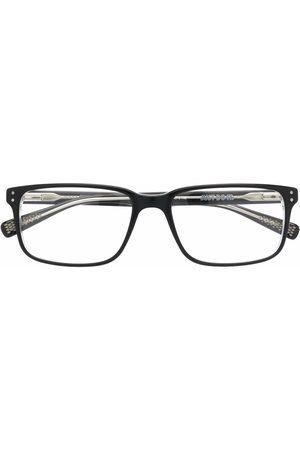 Nike Rectangle-frame logo-print glasses