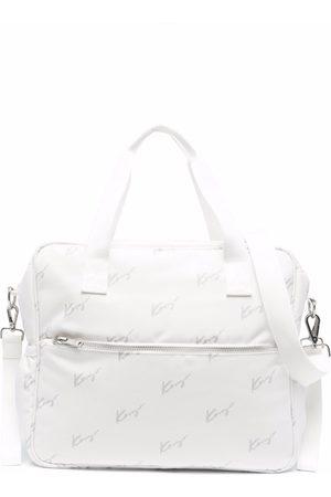 Kenzo Logo-print tote bag