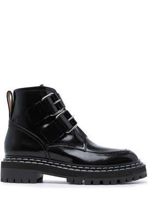 Proenza Schouler Buckle-fastening ankle boots