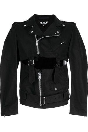 Comme des Garçons Belted cut-out biker jacket