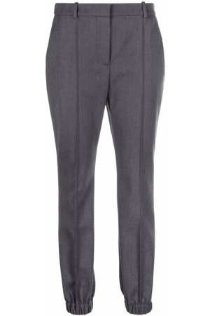 Alexander McQueen Pressed-crease trousers