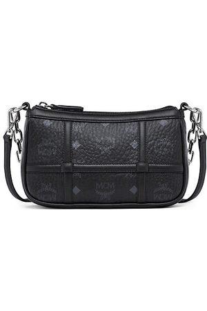 MCM Mini Delmy Visetos Shoulder Bag