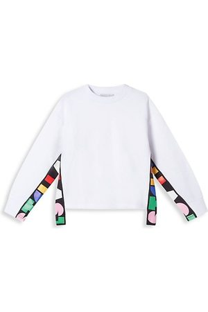 Stella McCartney Girls Sweatshirts - Little Girl's & Girl's Logo Tape Sweatshirt