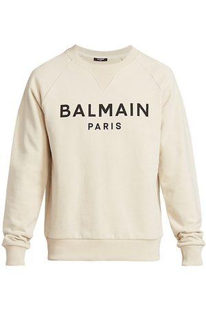 Balmain Logo Printed Crewneck Sweatshirt
