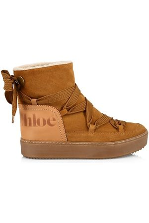 See by Chloé Charlee Weather Suede Booties