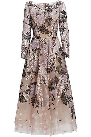Marchesa Women Casual Dresses - Tulle Ankle-Length Dress