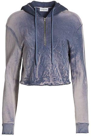 Cotton Citizen Women Sweatshirts - The Brooklyn Cropped Zip Hoodie