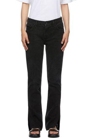 Grlfrnd Black Slim Hailey Bootcut Jeans
