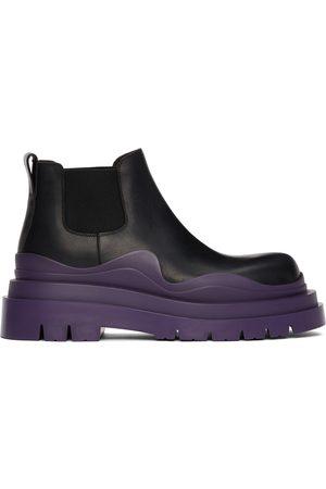 Bottega Veneta & Purple Low 'The Tire' Chelsea Boots