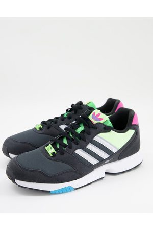 adidas Originals ZX 1000C trainers in and yellow