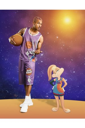 ASOS Men Sets - Space Jam: A New Legacy co-ord vest with Bugs Bunny print in