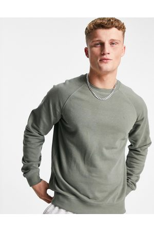 Only & Sons Co-ord crew neck sweat in washed