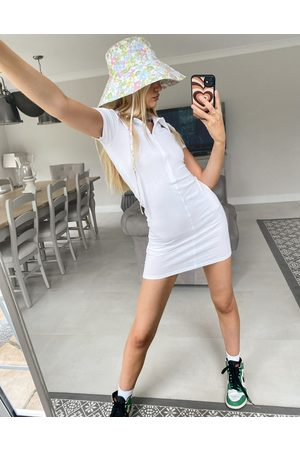 ASOS Women Bodycon Dresses - Bodycon mini polo dress with zip in